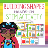 Building Shapes : Hands-On STEM Activity Cards