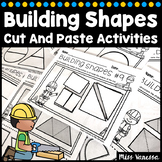 Building Shapes With Shapes Worksheets Distance Learning