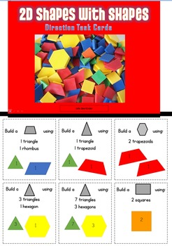 Building Shapes with Shapes
