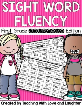 Building Sight Word Fluency {Compatible With First Grade J