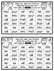 Building Sight Word Fluency {For Use With Kindergarten Journeys}