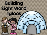 Building Sight Word Igloos (a phonics craftivity)