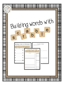 Building Sight Words Using Scrabble