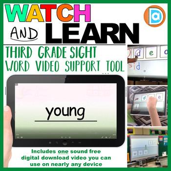 RTI   Third Grade Sight Word Fluency Tool   Young