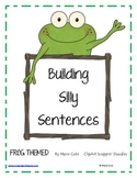 Building Silly Sentences: Frog Themed