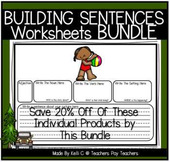 Building Simple Sentences Using Nouns, Verbs, Adjectives &