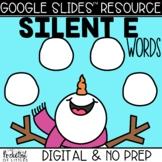 Building Snowman CVCe Words   Made for Google Classroom™️