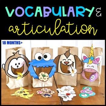 Building Speech Vocabulary and Articulation Activity