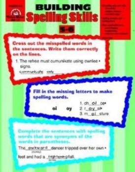 Building Spelling Skills 5-6 Evan-Moor
