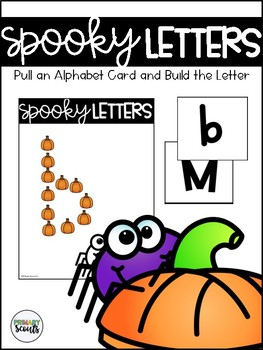 Building Spooky Letters
