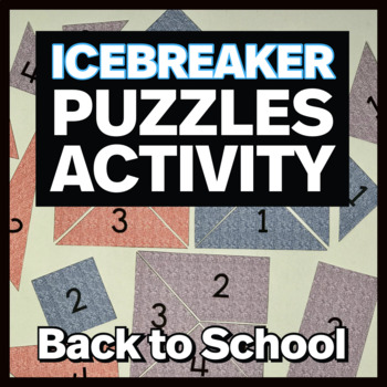 Building Squares:  Icebreaker Puzzles (for first week of school)
