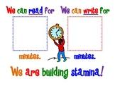Building Stamina Poster