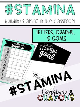 Building Stamina in the Classroom