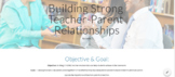 Building Strong Teacher and Parent Relationships Informati