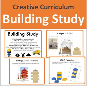 Buildings Study Creative Curriculum Worksheets Teaching
