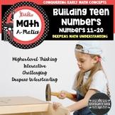 Teen Numbers Worksheets & Games