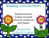 Building Teen Numbers with Flowers