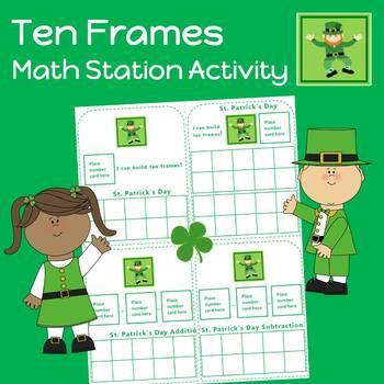 Building Ten Frames Math Station