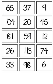 Building Tens and Ones Game