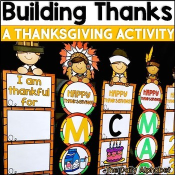 Building Thanks: A Thanksgiving Activity