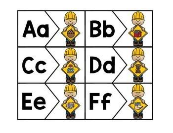 Building The Alphabet