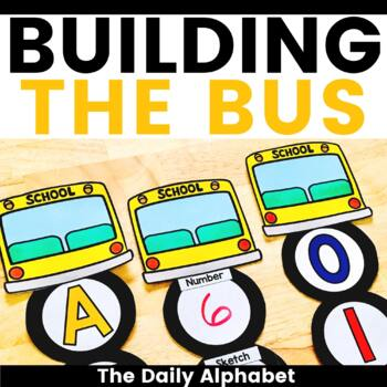 Building The Bus: A Back To School Activity