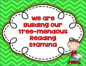 Building Tree-mendous Reading Stamina