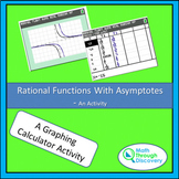Algebra 2 - Rational Functions With Asymptotes - An Activity