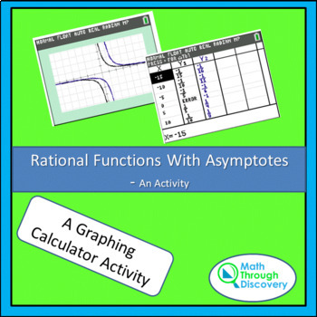Rational Functions With Asymptotes - An Activity