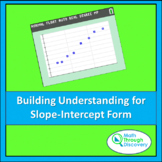 Algebra 1 - Building Understanding for Slope-Intercept Form