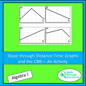 Slope through Distance-Time Graphs and the CBR - An Activity