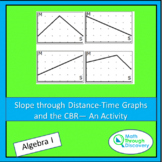 Algebra 1 - Slope through Distance-Time Graphs and the CBR