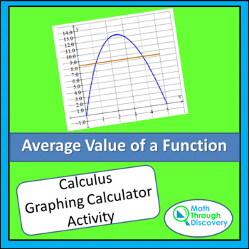 Calculus:  Average Value of a Function - An Exploration