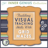 Building Visual Tracking Skills with Grid Mazes