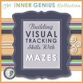 Building Visual Tracking Skills with Mazes