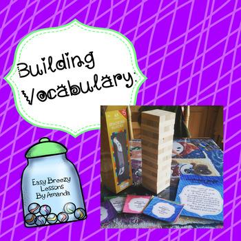 Building Vocabulary (Grades 3,4,5)