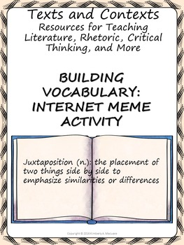 Building Vocabulary: Internet Meme Activity