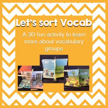 Building Vocabulary - Let's Sort