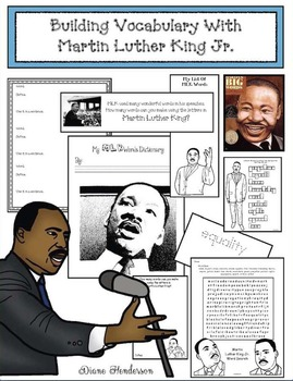 Building Vocabulary & Making Connections With Martin Luther King Stories