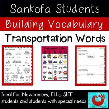 Building Vocabulary: Transportation