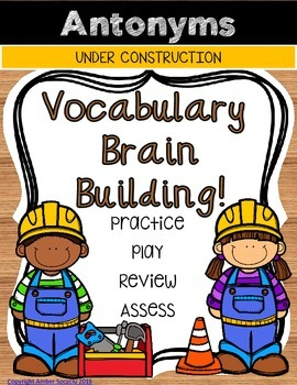 Building Vocabulary with Antonyms
