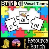 Long Vowels Center Vowel Teams Puzzles