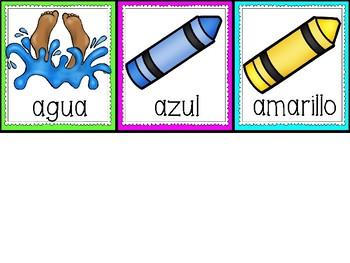 Building Vowel Words in Spanish
