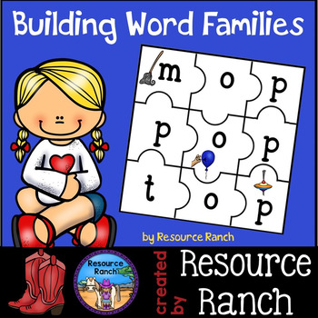 Word Families Printable Puzzles