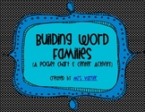 Building Word Families {A Pocket Chart Center Activity}