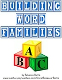 Building Word Families