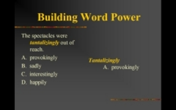 Building Word Power PowerPoint