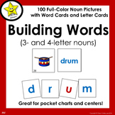 Building Words (3- and 4-letter nouns)