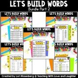 Building Words Bundle Part 2 | Google Classroom | Distance