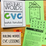 Building Words:  CVC Word Families